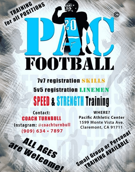 pac football training